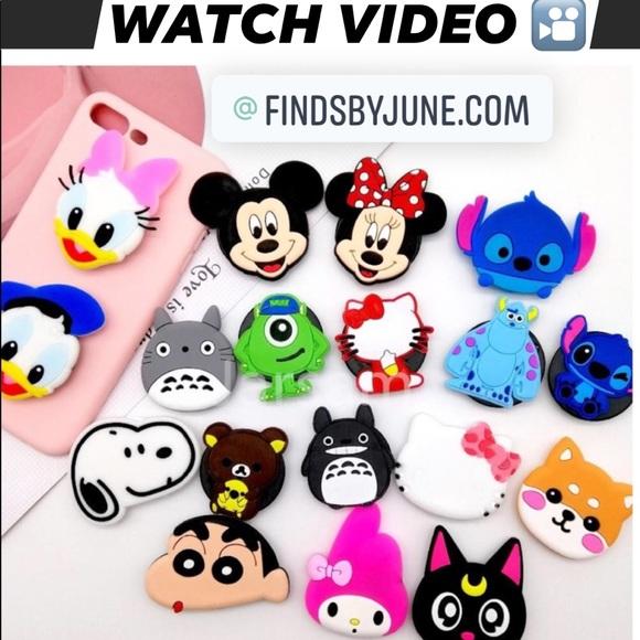 New Cute 3d Pop Sockets Disney Characters Marvel Boutique